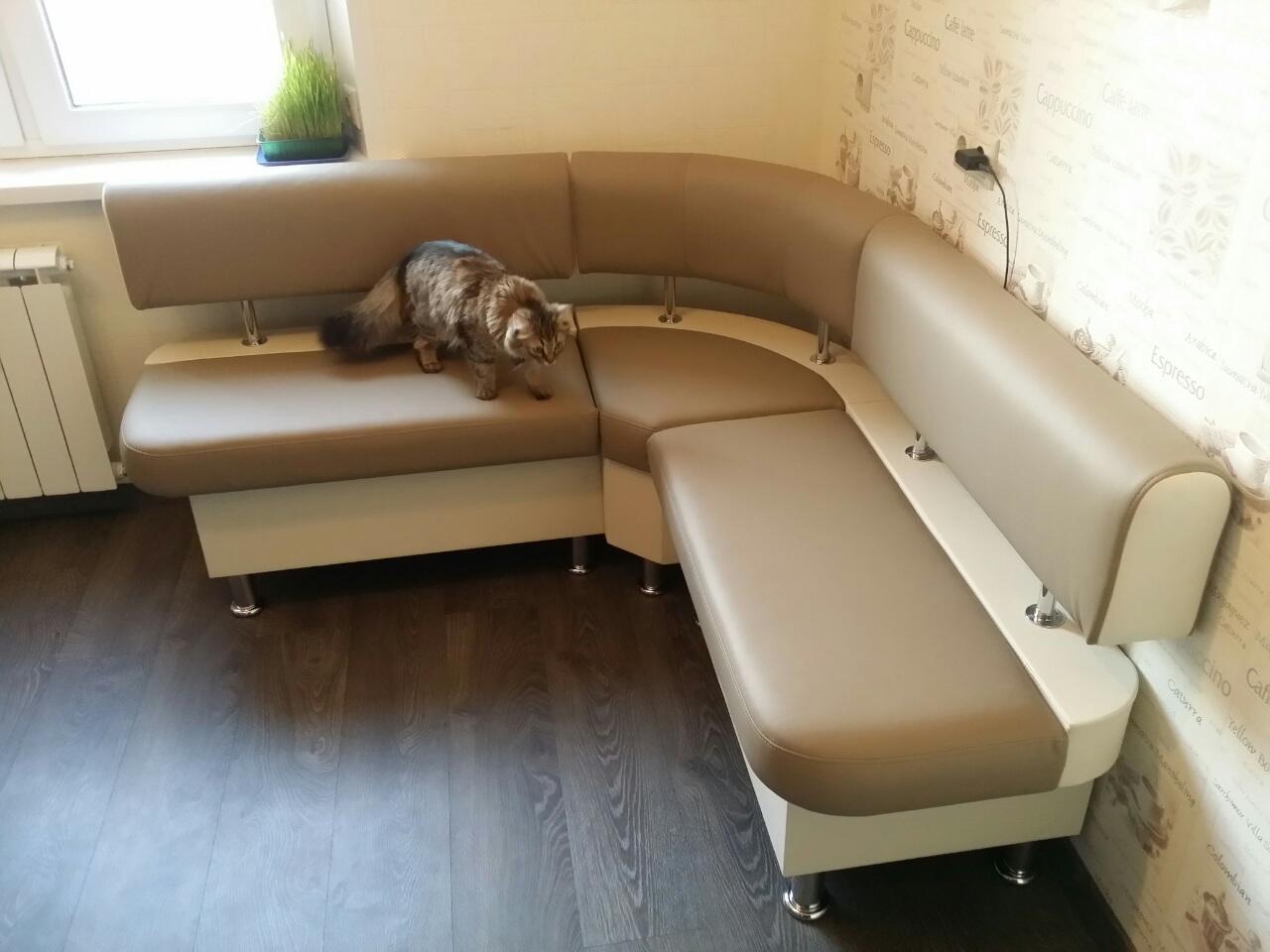 купить маленький угловой диван на кухню недорого в москве